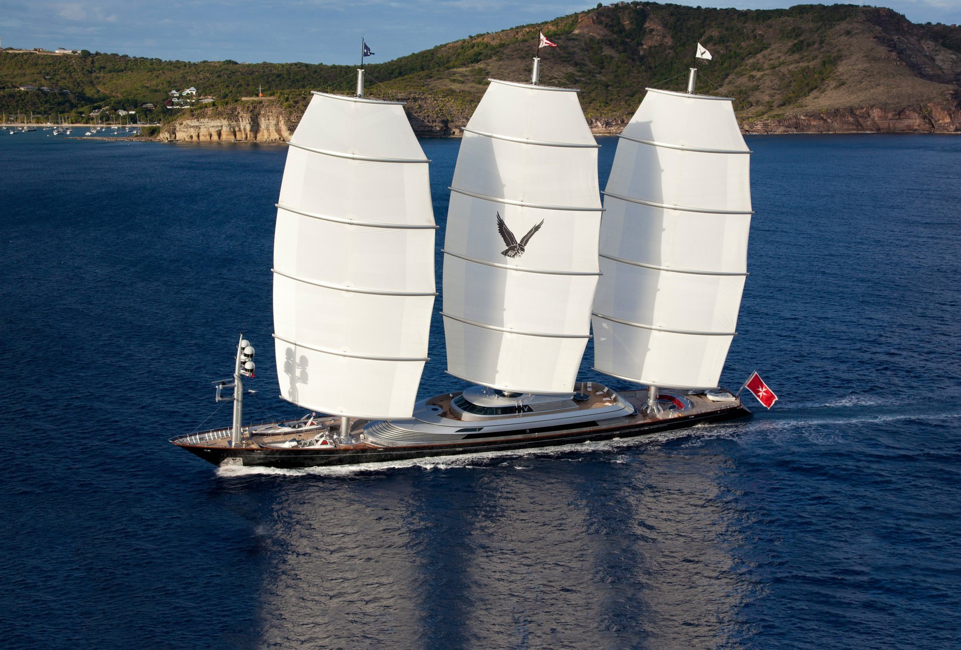 Floating Life Charter Sailing Yacht Maltese Falcon
