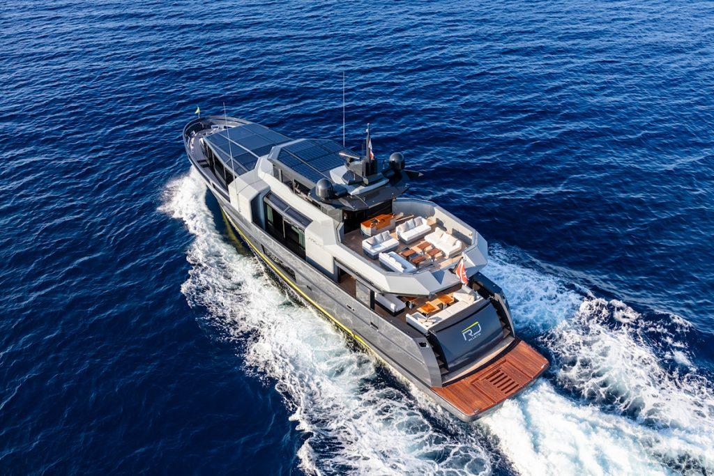 ARCADIA 105 yacht rendering
