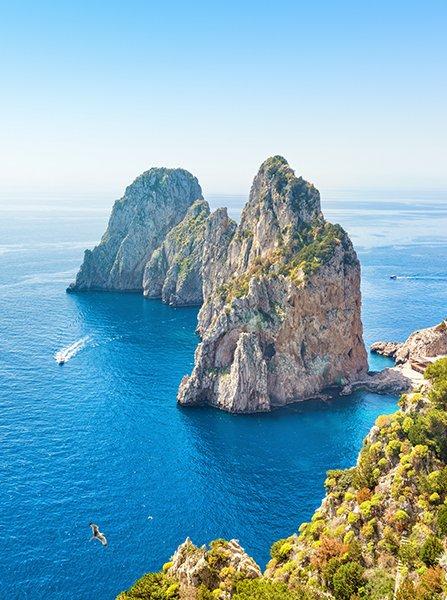 Itinerary for charter - Italian Riviera