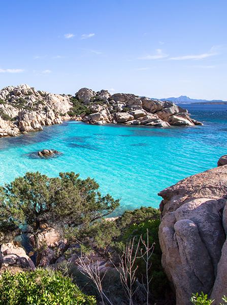 Itinerary for charter - sardegna coast